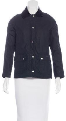 Barbour Lightweight Zip Jacket $150 thestylecure.com