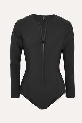 Lisa Marie Fernandez Farrah Neoprene Swimsuit - Black