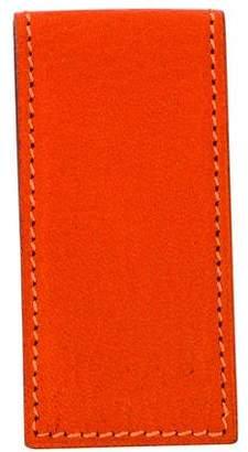 Hermes Leather Money Clip