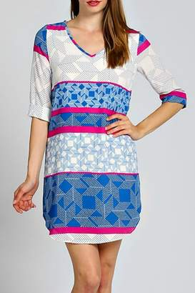 Modern Emporium Geo Shift Dress