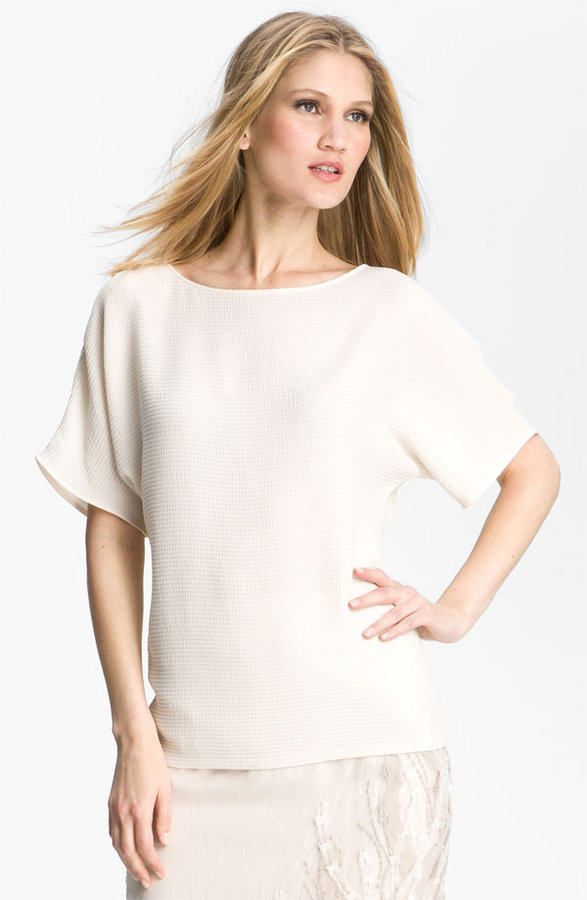 Lafayette 148 New York 'Larkin' Silk Top