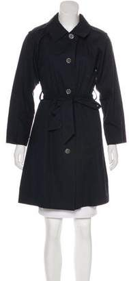 Marc by Marc Jacobs Tie-Front Knee-Length Trench Coat