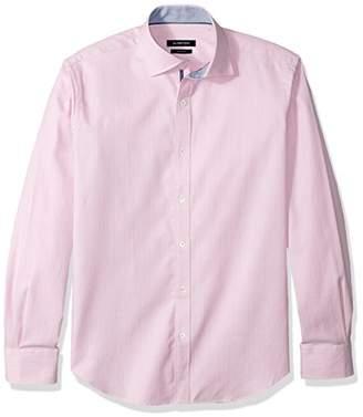 Bugatchi Men's Davey Long Sleeve Tonal Button Down Shirt
