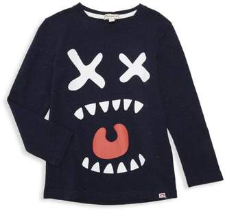 Appaman Little Boy's & Boy's Graphic Sneaker Long-Sleeve Tee