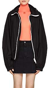Givenchy Women's Gathered-Back Hooded Windbreaker - Black