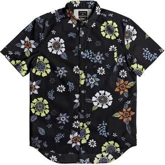 Quiksilver Sunset Floral Short-Sleeve Shirt - Men's