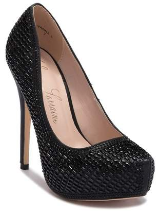Ralph Lauren Lorraine Vanna Closed Toe Platform Pump