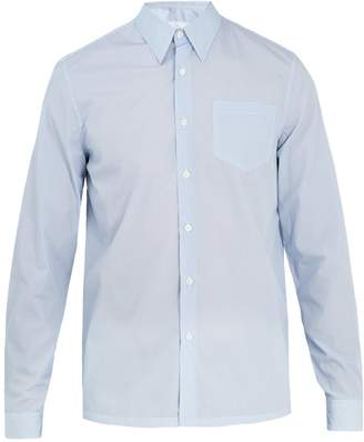 Prada Fantasia-print cotton-poplin shirt