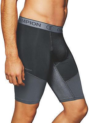 Champion Powerflex 9'' Compression Boxer Brief Underwear - Men's