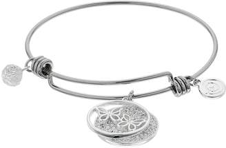 "Love This Life love this life ""True Friends Give You Wings To Soar"" Bangle Bracelet"