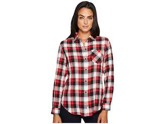 Woolrich Kanan Eco Rich Lightweight Shirt Women's Long Sleeve Button Up