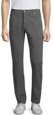 Kiton Classic Buttoned Straight Pants
