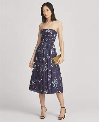 Ralph Lauren Carren Silk Dress