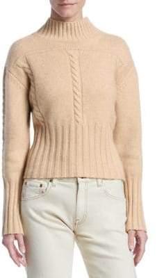 Khaite Maude Cashmere Mock-Neck Sweater