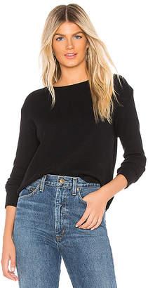 Enza Costa Cashmere Thermal Sweatshirt