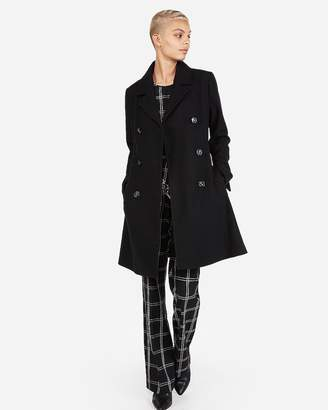 Express Belted Wool Blend Trench Coat