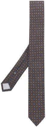 Eleventy micro floral tie