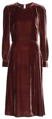 Rochas Velvet dress