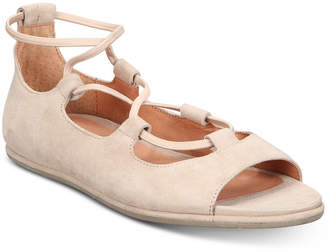 Gentle Souls by Kenneth Cole Women Lark Peep-Toe Flats Women Shoes