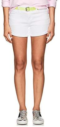 Frame Women's Le Cut Off Denim Shorts - White