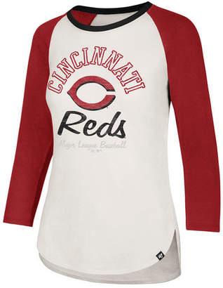 '47 Women's Cincinnati Reds Vintage Raglan T-Shirt