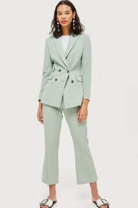 Topshop Kick Flare Suit Trousers