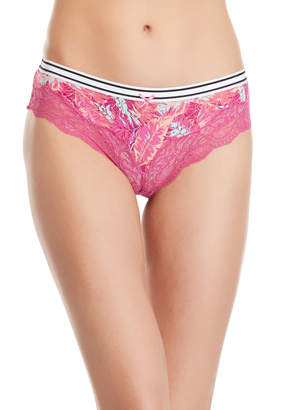 Honeydew Two-Pack Haley Lace Trim Thong