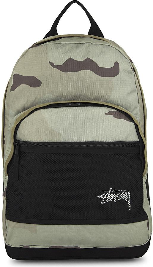 StussyStussy Camo-print backpack
