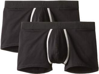 Pact Men's 2-Pack Organic Cotton Trunk Brief