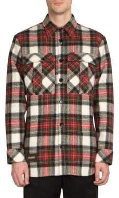 Stella McCartney Wool Plaid Sport Shirt
