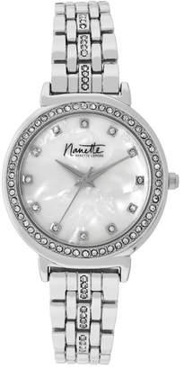 Nanette Lepore NANETTE Women's Silver-Tone Watch, 33mm