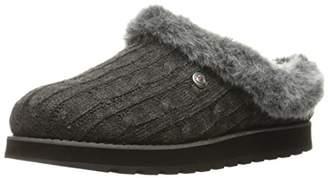 Skechers BOBS Women's Keepsakes - Ice Angel. Sweater Slipper w Plush Foam