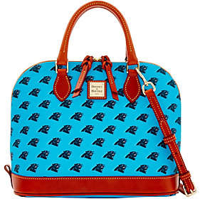 Dooney & Bourke NFL Panthers Zip Zip Satchel