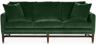 Michael Thomas Collection Arden Sofa - Emerald Velvet