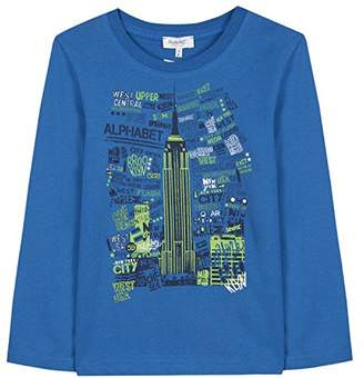Alphabet Boy's 4m10063-ra T-Shirt, (Blue 44), (Size: 6A)