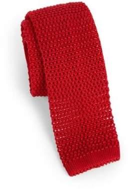 Charvet Solid Silk Knit Tie