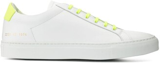 Common Projects contrast lace-up sneakers