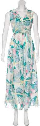 Band Of Outsiders Printed Maxi Dress