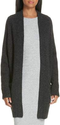 Vince Cashmere Raglan Sleeve Open Front Cardigan