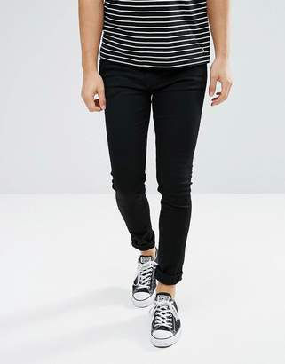 Weekday Form Super Skinny Jean Black