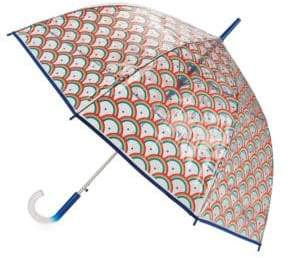 ShedRain Flamingo Print Umbrella