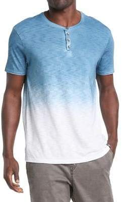 Silver Jeans Co Kurt Ombre Cotton Henley