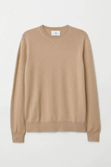 H&M - Cashmere Sweater - Beige