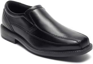 Rockport Classic Tradition Bike Toe Leather Slip-On Shoes