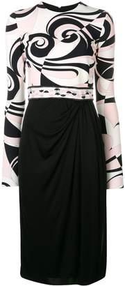Emilio Pucci Fortuna Print Dress