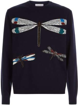 Valentino Dragonfly Sweater
