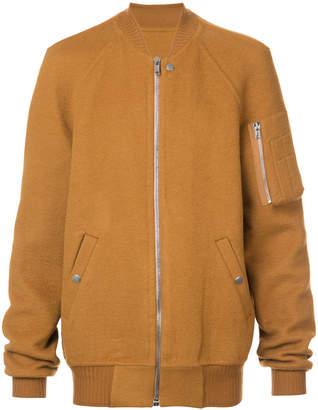 Rick Owens cashmere classic bomber jacket