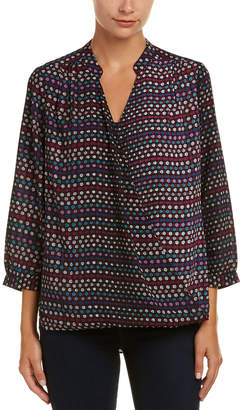 NYDJ Draped Front Top