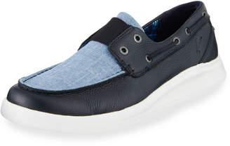 Tommy Bahama Men's Ocean Ridge Slip-On Boat Shoes