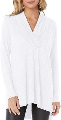 Michael Stars Brooklyn Surplice Jersey Tunic Top